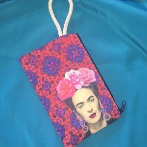 Frida Kahlo wristlet